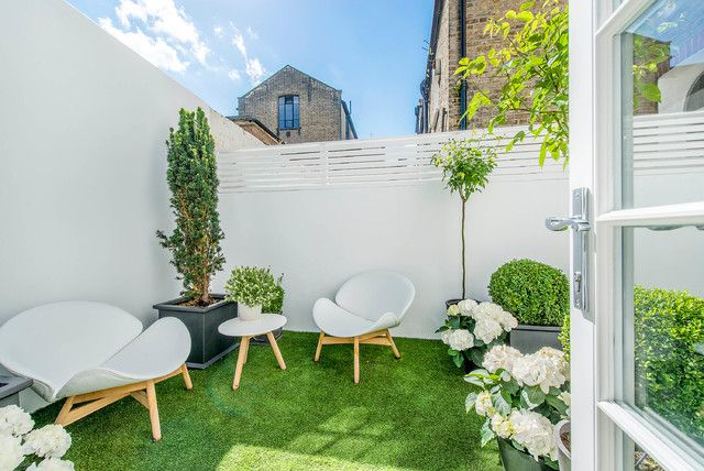 If you are looking for inspiration for the design of your courtyard, you've come to the right place. Who says you can not have a nice, modern and comfortab