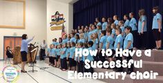 How to have a successful elementary choir: Great blog post with lots of useful suggestions!