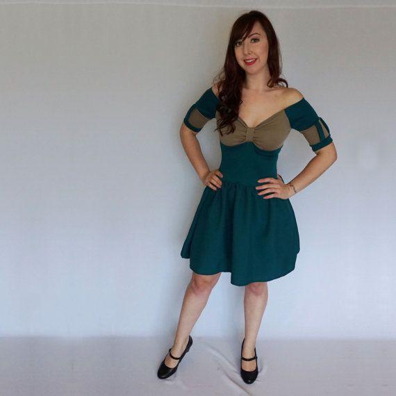Adult Princess Merida Brave Fancy Dress CosPlay by LolaNovaUK
