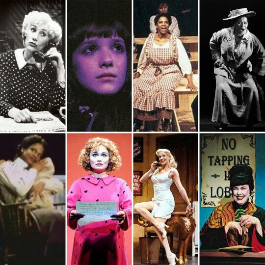 Best Featured Actress: Randy Graff-City of Angels, Daisy Eagan-The Secret Garden, Audra McDonald-Carousel, Ann Duquesnay-Bring in 'da Noise/Bring in 'da Funk, Audra McDonald-Ragtime, Kristin Chenoweth-You're a Good Man, Charlie Brown, Cady Huffman-The Producers, Harriet Harris-Thoroughly Modern Millie