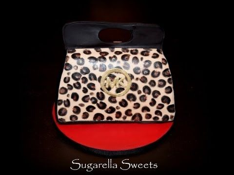 This video tutorial will show you step by step how to make fondant look like leopard. You may use this easy technic for your cakes, cupcakes, cookies, cake pops and much more. This is a great way to decorate your desserts. Enjoy! www.SugarellaSweets.com
