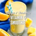 Mango and Turmeric Vitamin C Smoothie