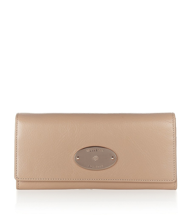 MULBERRY  Plaster Pink Continental Wallet