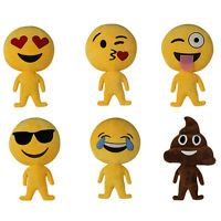Kids Soft Toys Emoji Poop Pillows Expression Plush Dolls Cushion Stuffed Doll