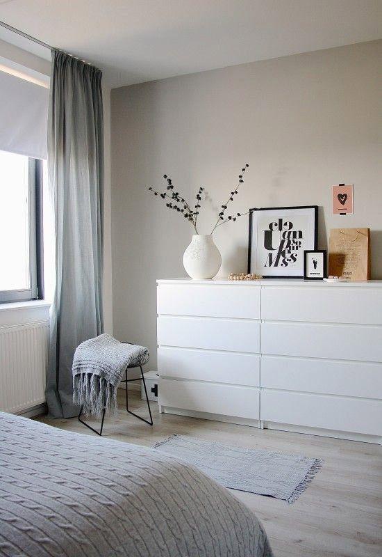 5x Ikea ladekast in de slaapkamer