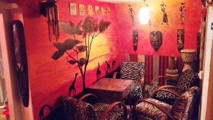 Jedna z miestnosti u nás v Podzemíčku...