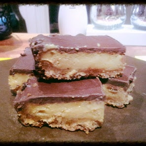 Chocolate caramel slice recipe snapshot