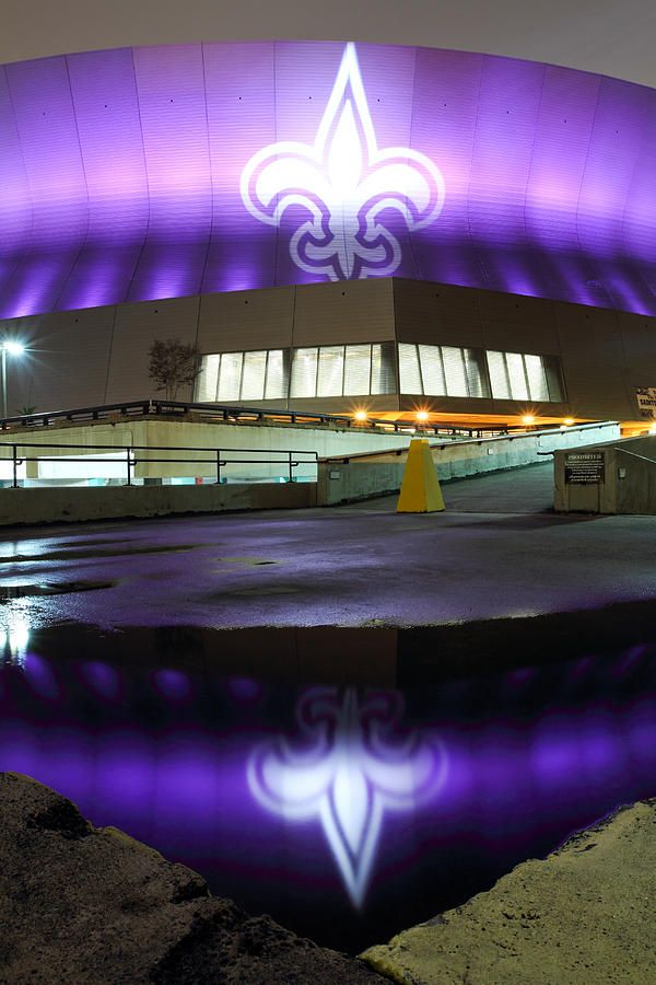 Fleur di Lis at Louisiana Superdome, New Orleans #WhoDat