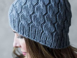 Cap Hill Cable Hat Knitting Kit