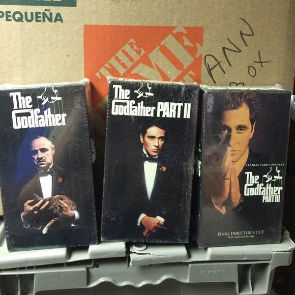 The Godfather Part 1, 2, and 3 VHS The Godfather Part 1, 2, and 3 VHS Other
