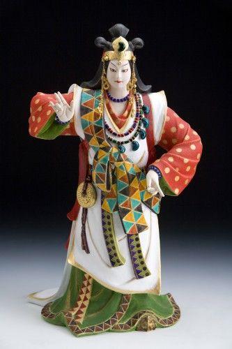 Hakata doll. Looking for more information aboout Fukuoka? Go Visit Fukuoka City Photo Gallery. http://showcase.city.fukuoka.lg.jp/