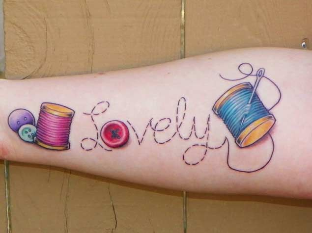 "This is for all those die hard knitters and sewers out there who want to keep that needle and thread with them at all times. Tattoos incorporating some sort of sewing related prop are, as I just recently found out, surprisingly popular. So popular in fact that I could have easily extended this list to ""500 Beautiful Sewing & Knitting Tattoo Designs"" instead of a measly 21 if my favorite TV show wasn't about to start in T minus 58 minutes. If there's enough interest, let me know and I'll s..."