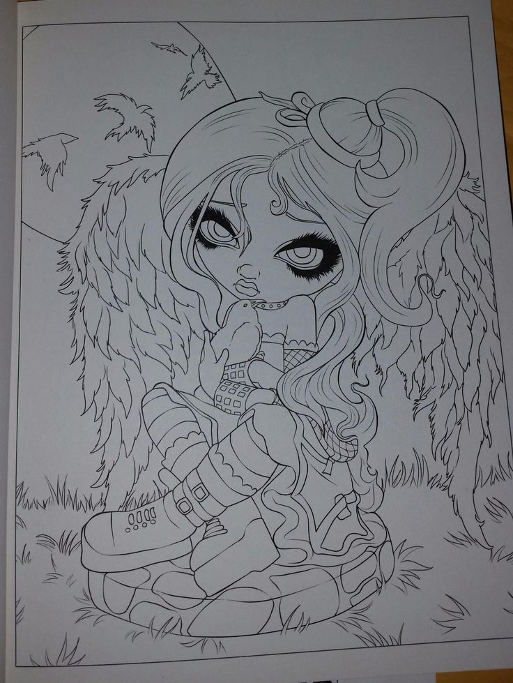 Amazon Com Jasmine Becket Griffith Coloring Book A