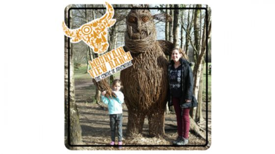 Mountain View Ranch Caerphilly South Wales UK review. Family day out.