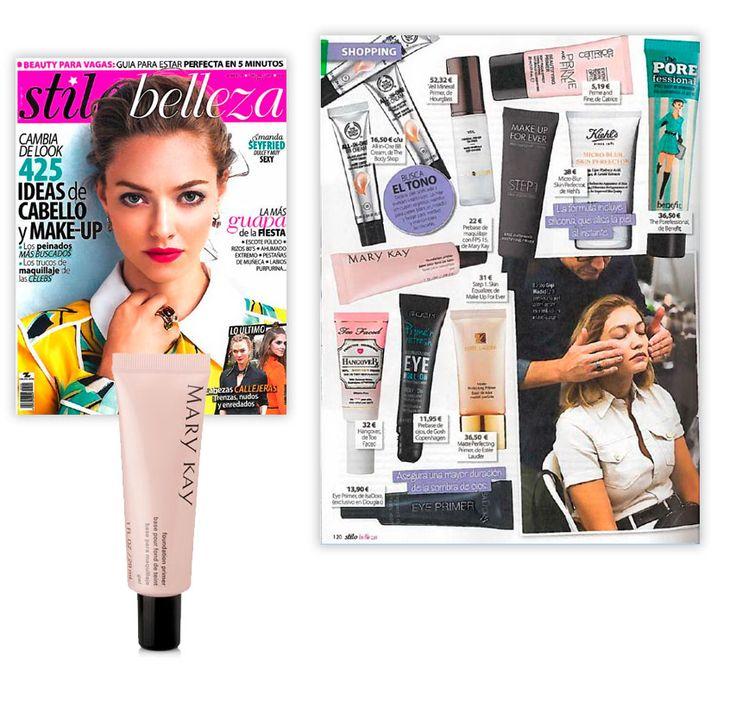 Revista Stilo Belleza - Diciembre 2016     Pre-Base de Maquillaje con FPS 15 Protección Media Mary Kay®