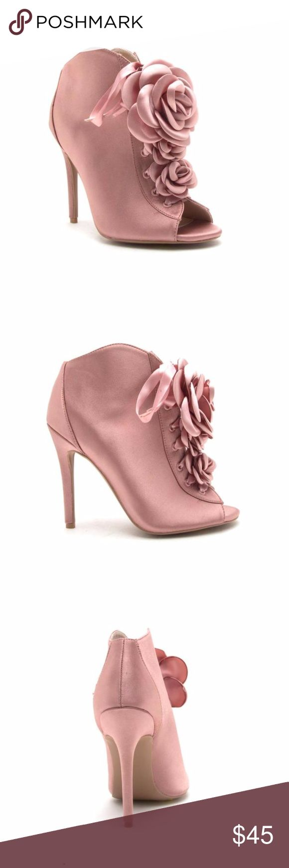 ARA-382 MAUVE SATIN Get just in time for the holidays! Share to your friends and family Great Quality 4 inch heels. Shoes Ankle Boots & Booties