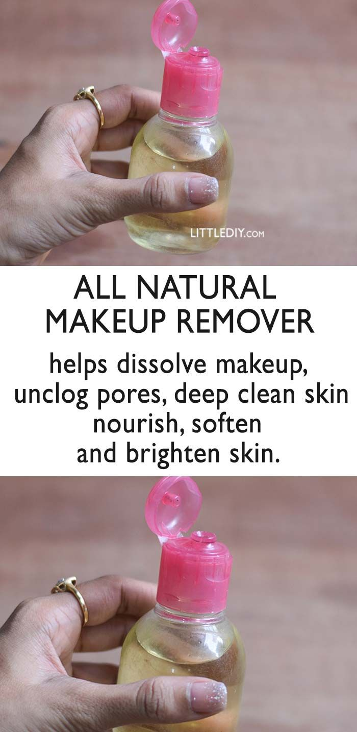 DIY All Natural Makeup Remover for Clear Skin
