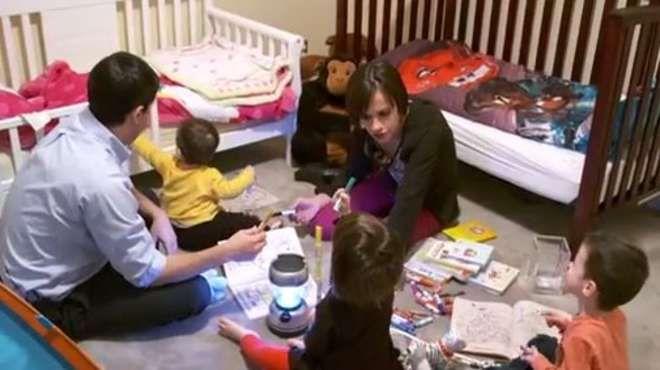 Nonostante la malattia genetica diventa madre di tre bambini sani -