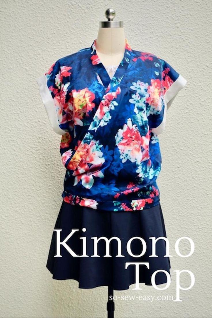 Kimono Top   Craftsy