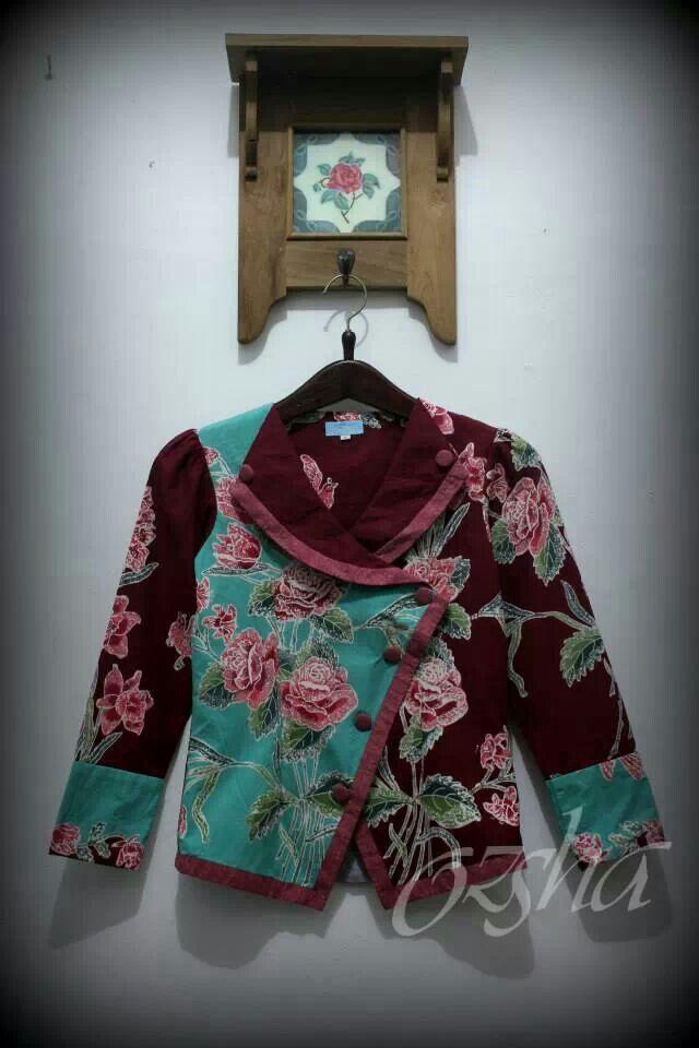 Jacket Batik