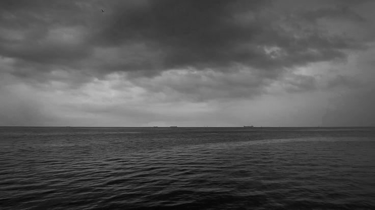 mroczne nad morzem