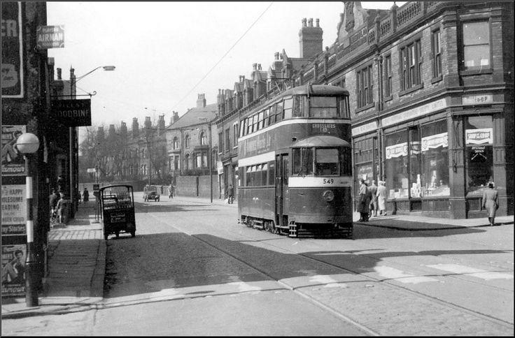 Armley: Tong Road. 1950s.