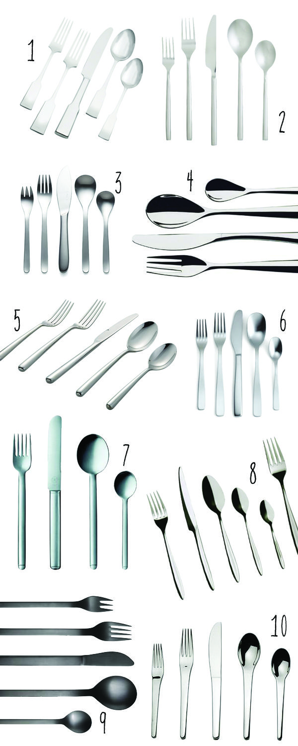 Share Tweet + 1 Mail There is such good flatware out there, it makes me positively giddy! We registered for #6 and its just ...