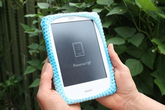#Blue #Kobo #Touch #Cover on #Etsy