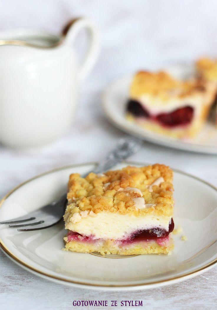 cake with plums | gotowanie ze stylem