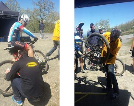 #taller #mecánica #bicicletas #workshop #wrenchers #bicycles Asistencia técnica a eventos