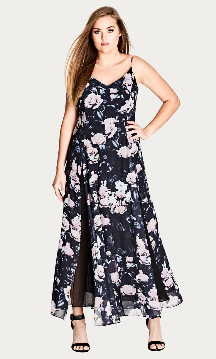 Style By Trend: Modern Marble by City Chic - ROMANCE ROSE MAXI DRESS#citychic #citychiconline #newarrivals #ootd #plussize #plussizefashion #psootd