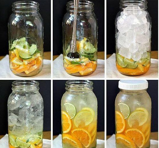 Cómo hacer agua saborizada en casa | TERAPIAS ALTERNATIVAS