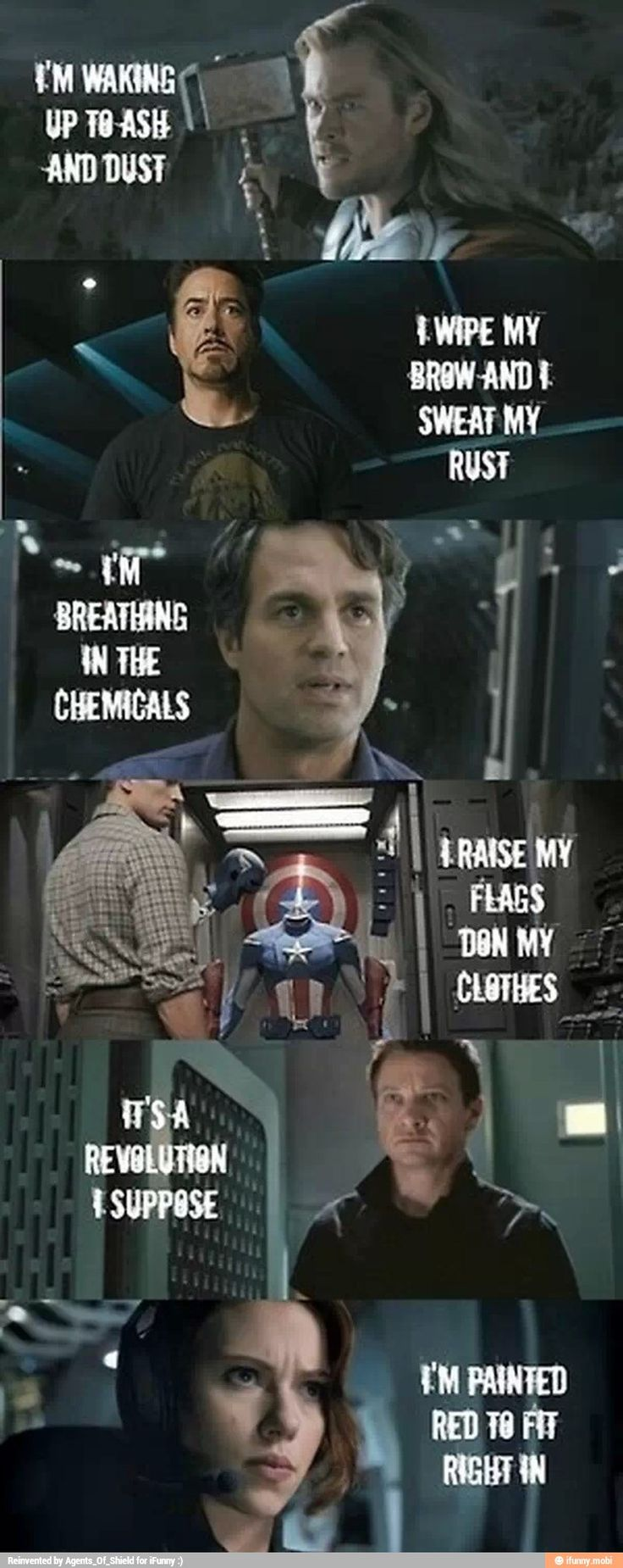 Avengers +imagine Dragons