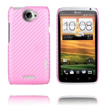 Carbonite Ver. II (Rosa) HTC One X Deksel