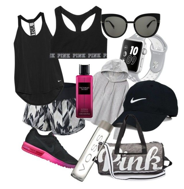 """""""Sport day 🏃🏼♀️"""" by laczolaura on Polyvore featuring NIKE, Victoria's Secret, Marc by Marc Jacobs and Nike Golf"""