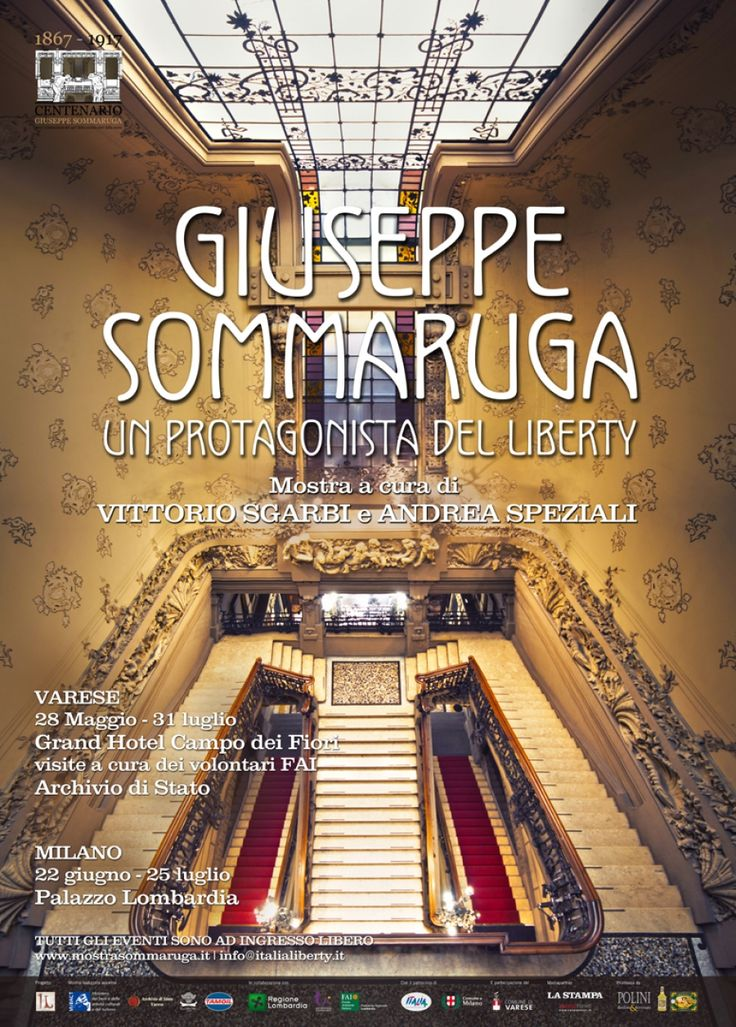 Varese celebra il Liberty e Sommaruga. Ne parliamo con Andrea Speziali