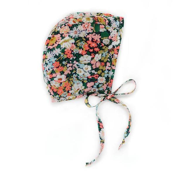 Briar Handmade Bonnet in Wild Poppy