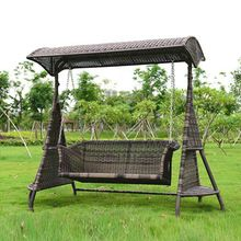 2 person wicker garden swing chair outdoor hammock patio leisure cover seat bench with cushion //Price: $US $599.00 & FREE Shipping //   #watches #bracelets #rings #shirts #earrings #dress