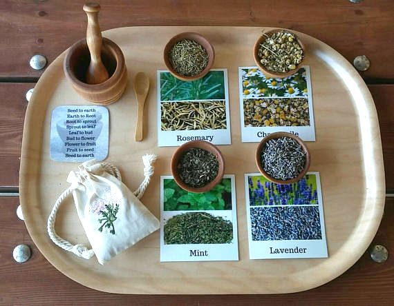 Give the child a Mortar and Pestle! - how we montessori