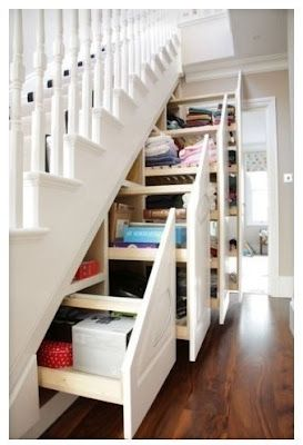 Cómo aprovechar el hueco de una escalera: Under Stair Storage, Interior, Understair, Dream House, Stairs Storage, Under Stairs, Storage Ideas, Design