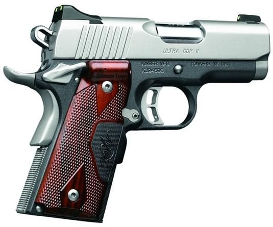 Kimber Ultra CDP II with Crimson Trace Lasergrips