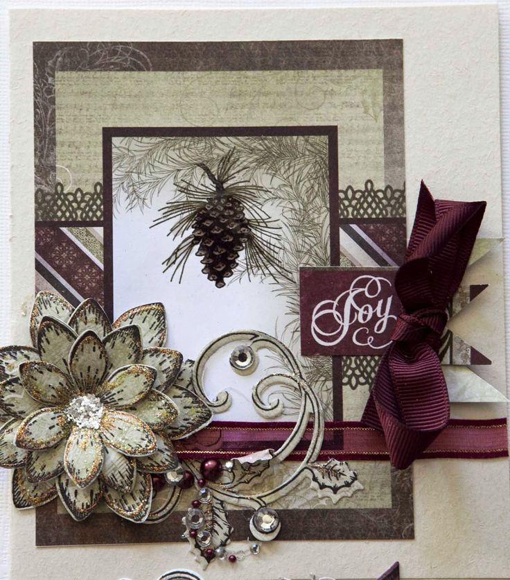 Dear Bloggers,  Oh I just love the Heartfelt Creations Christmas Card Collection. One paper pad makes soooooo many wonderful cards.        ...