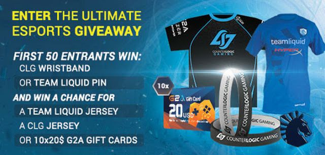 #Giveaway Esports Gaming Apparel and Game Gift Card « iDG | Best Gaming News Sites