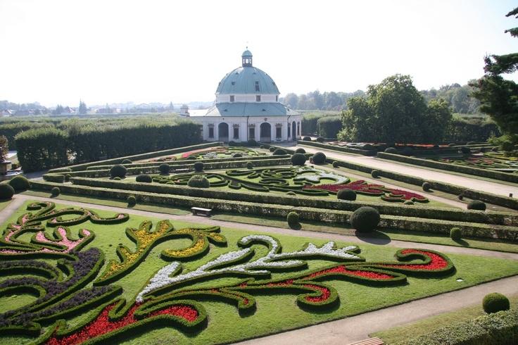 Vrtba Garden Prague, Czech Republic | Flower garden, Kromeriz - Czech Republic (horizon is bit overexposed)