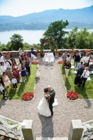 ceremony on the lake