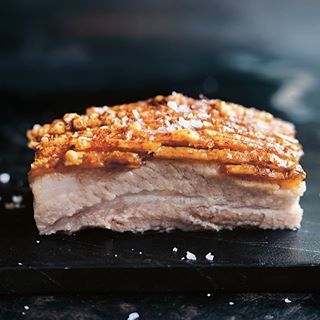 crispy pork belly with spiced plum sauce | Donna Hay