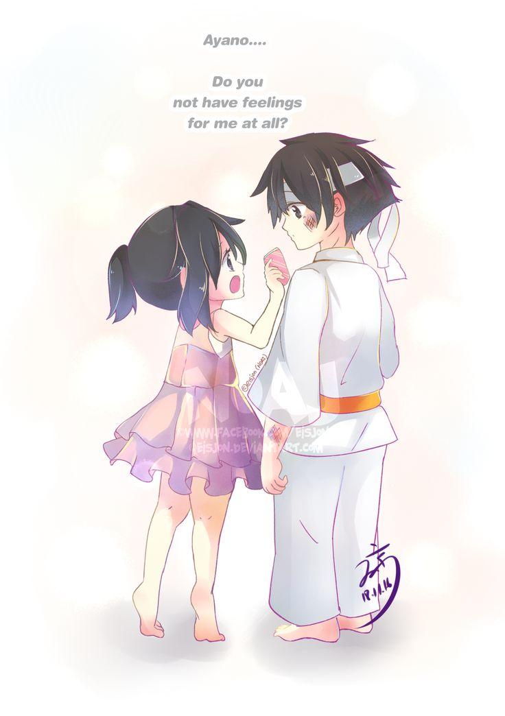 little ayano aishi x little budo masuta by eisjon