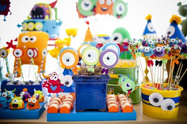 Festa infantil: monstrinhos