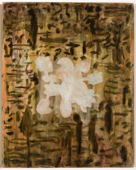 Barbara Tuck, Iris Gate, 1999, Oil on canvas, 405 x 508mm, 1 of a suite of 6
