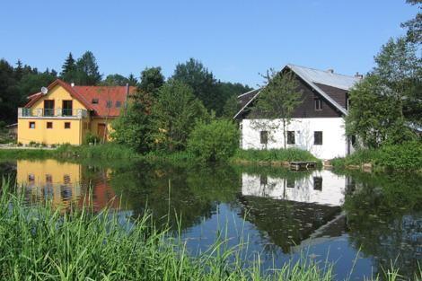 Camping Mléčná Dráha ligt in een beschermd natuurgebied, aan de rand van het Nationaal Park Šumava, en wordt omgeven door kleine boerderijen en bossen. Flora en fauna zijn nog zo goed als ongerept en de lucht nog schoon...